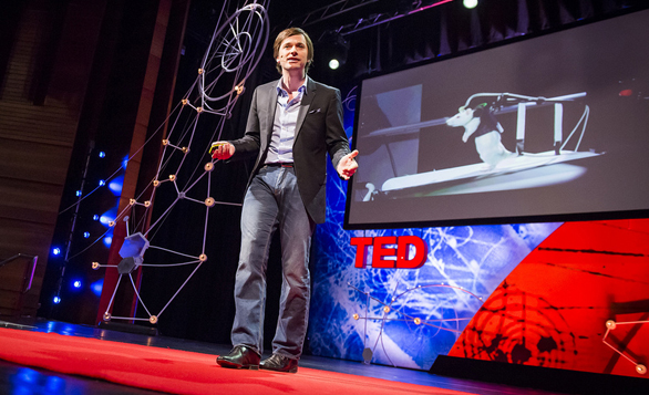Gregoire Courtine shares the story behind his work at TEDGlobal 2013. It begins with: an encouraging mentor. Photo: James Duncan Davidson