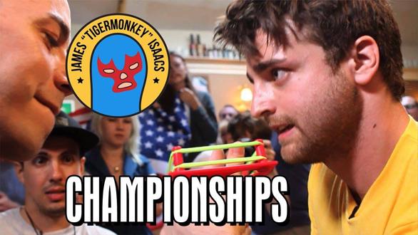 The reigning World Thumb Wrestling Champion.