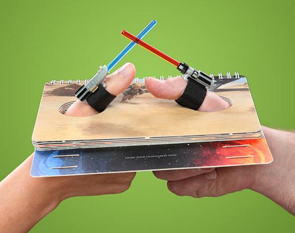 The Star Wars thumb wrestling set.