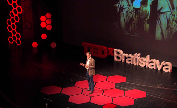 In a talk at TEDxBratislava, philosopher Steven Cave turns his eye to four stories about death that circulate over and over again. His suggestions of where you can see each story in action. Photo: TEDxBratislava