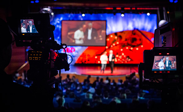 Below, 15 themes that ran through TED Talks in 2013. Photo: Ryan Lash