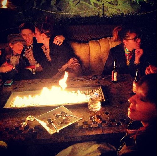 A lot of the best conversations at TEDActive happen around an open fire. There's something magical about being around fire pit; it encourages openness and fuels a special camaraderie.