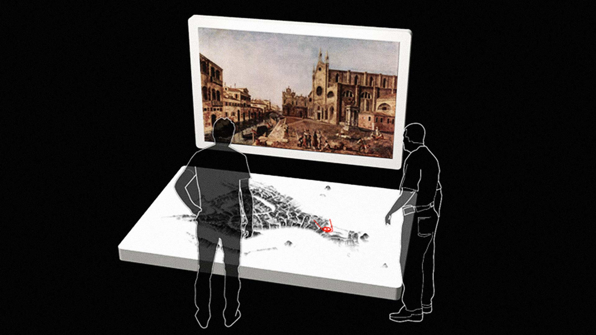 Frederic Kaplan has built an information-lush time machine that will let the curious to travel through Venetian history.