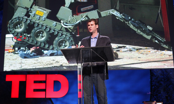 P.W. Singer spoke at TED2009 on the future of war. His new book is a dep dive on cybersecurity.