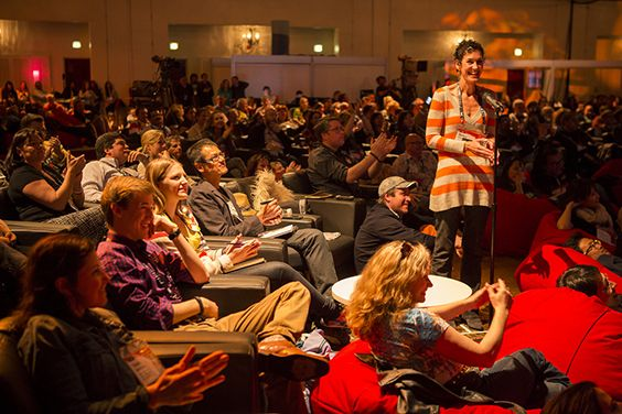 At TEDActive, the talks are just the starting point. It's the conversations that arise from them that get interesting.