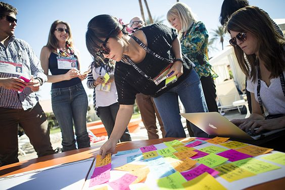 At TEDActive, collaborative