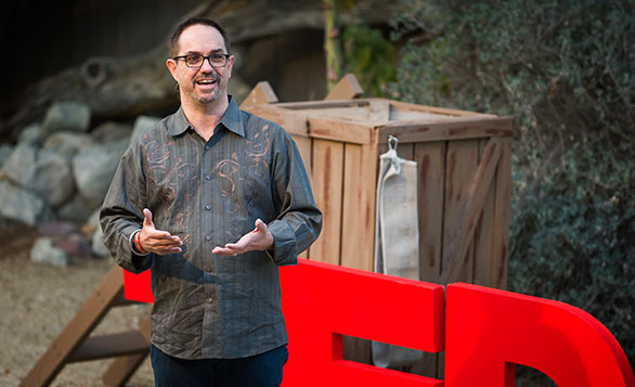 "At TEDActive 2011, JD Schramm stepped forward to talk about his failed suicide attempt and the need to break the silence surrounding suicidal feelings. When journalist Cara Anna saw the talk, she says it was a ""revelation."" Photo: Michael Brands"