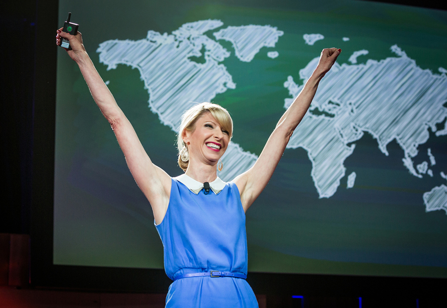 Amy Cuddy, whose talk from TEDGlobal 2012 catapulted onto our list of most-viewed talks, shares how the experience of speaking at TED changed her life—and that of so many others. Photo: Bret Hartman