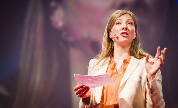 Charmian Gooch introduces global corruption's hidden players at TEDGlobal 2013. Photo: James Duncan Davidson