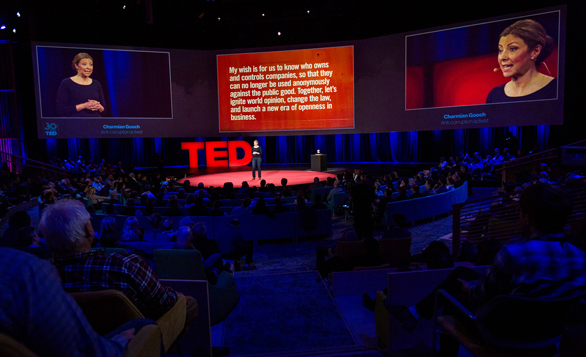 Charmian Gooch shares the question that has guided so much of her work at TED2014. Here's how you can help her TED Prize wish come true. Photo: James Duncan Davidson