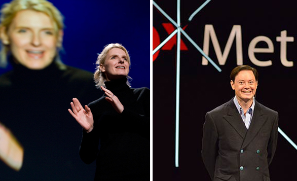 TED2014 speakers Elizabeth Gilbert and Andrew Solomon have both been nominated for the Wellcome Prize for their books.