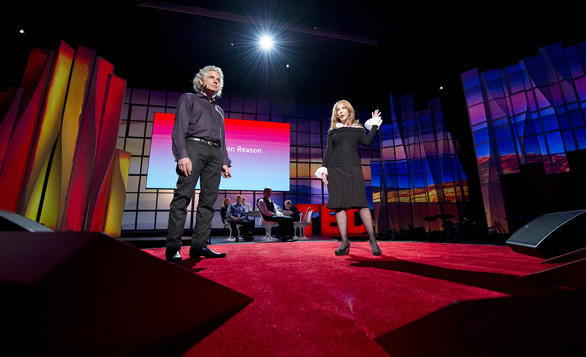 Steven Pinker and Rebecca Newberger Goldstein explored how reason shaped human history at TED2012. While the talk fell flat in person, we've animated it to bring new life to this important idea. Photo: James Duncan Davidson
