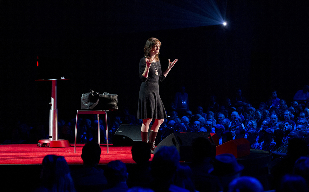 Susan Cain spoke about the power of introverts at TED2012. Hear her plans for making the world a little quieter for them. Photo: James Duncan Davidson