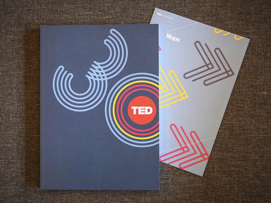 A look at the TED2014 speaker program, celebrating 30 years. Photo: Marla Aufmuth