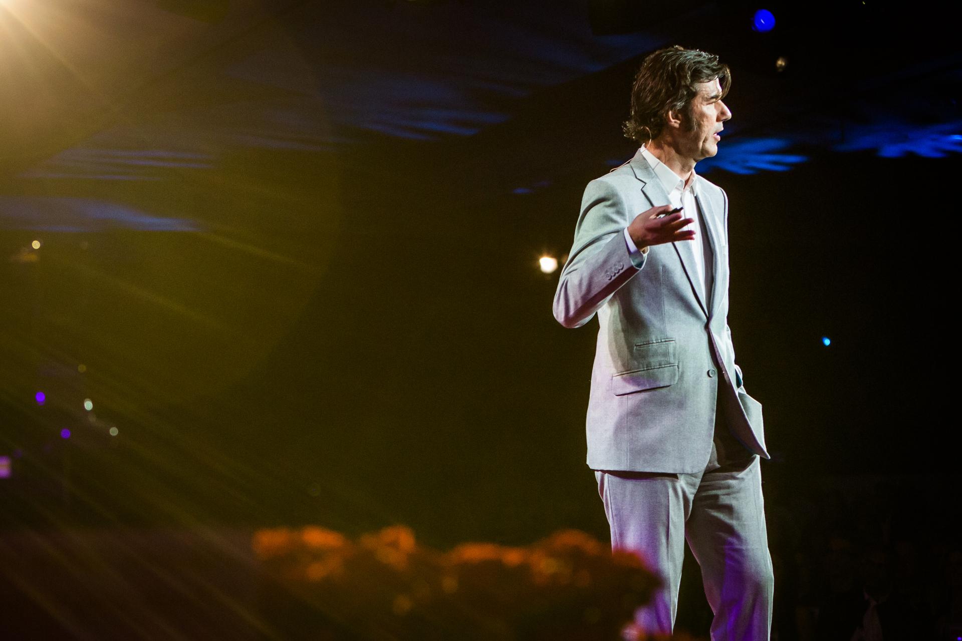 Stefan Sagmeister. Photo: Bret Hartman