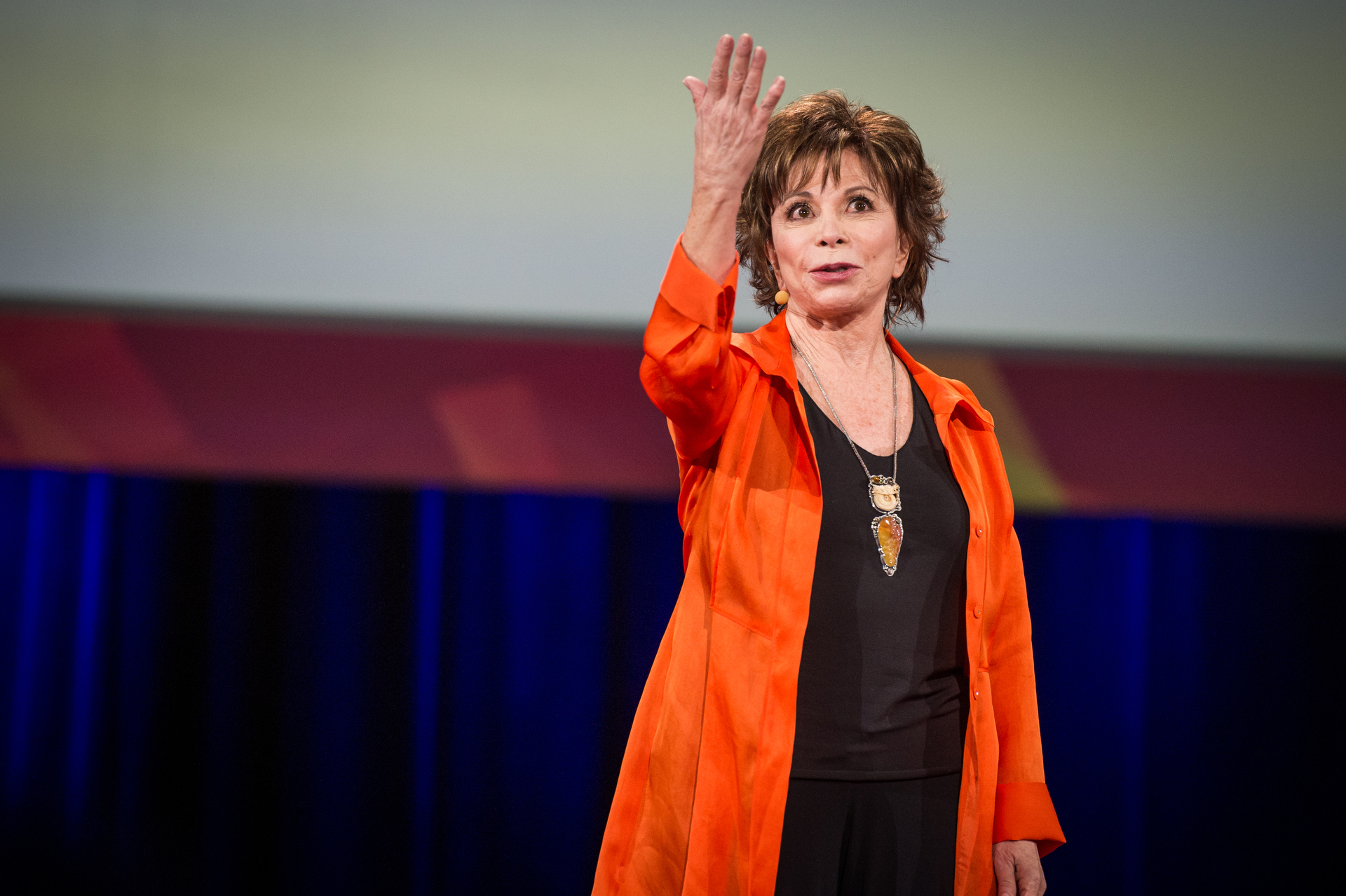 Isabel Allende. Photo: James Duncan Davidson