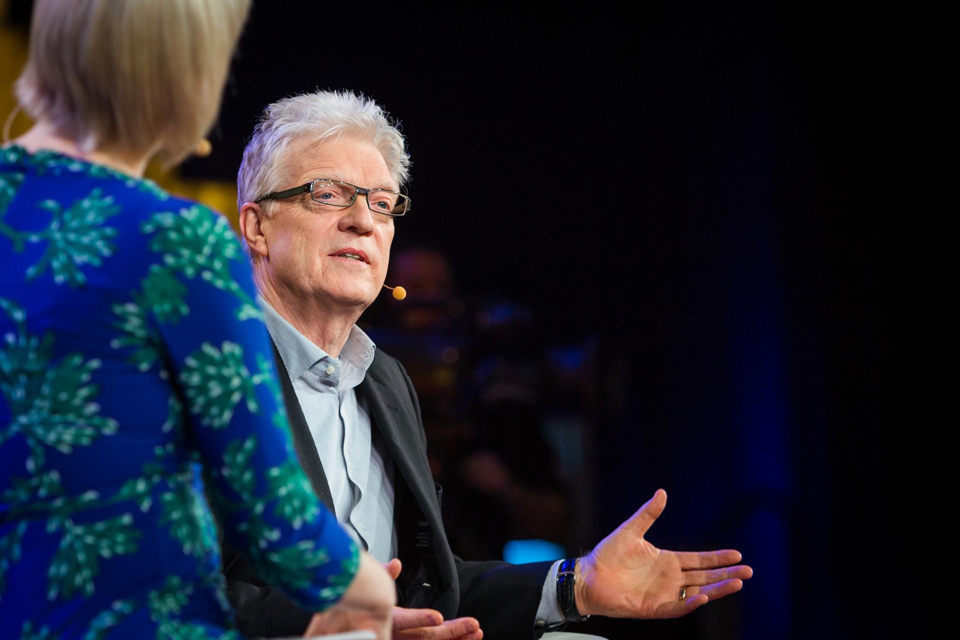 Sir Ken Robinson. Photo: Ryan Lash