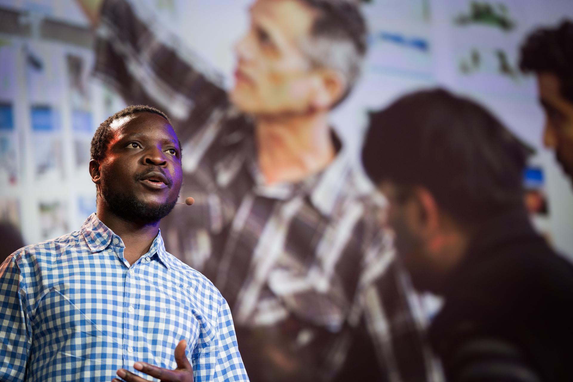 William Kamkwamba. Photo: Ryan Lash