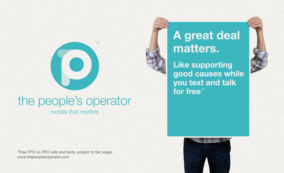 Wales' latest venture is The People's Operator, a telephone company that doesn't advertise and gives 10% of each customer's bill to a cause of their choice.