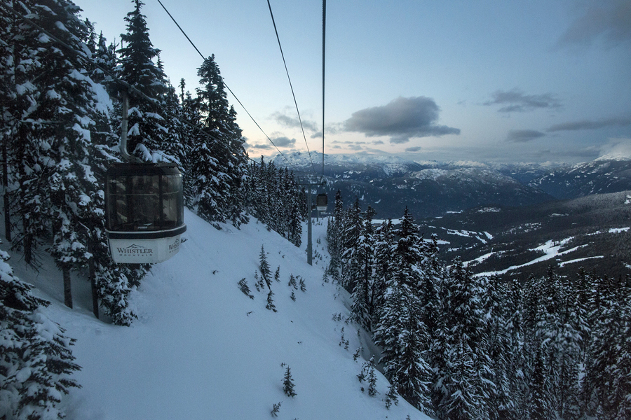 The view from Whistler, where TEDActive 2014 was held. Photo: Sarah Nickerson