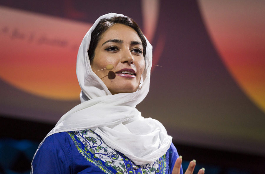 Fereshteh Forough shares her experience of returning to her family's country, Afghanistan, in 2001. Photo: Ryan Lash