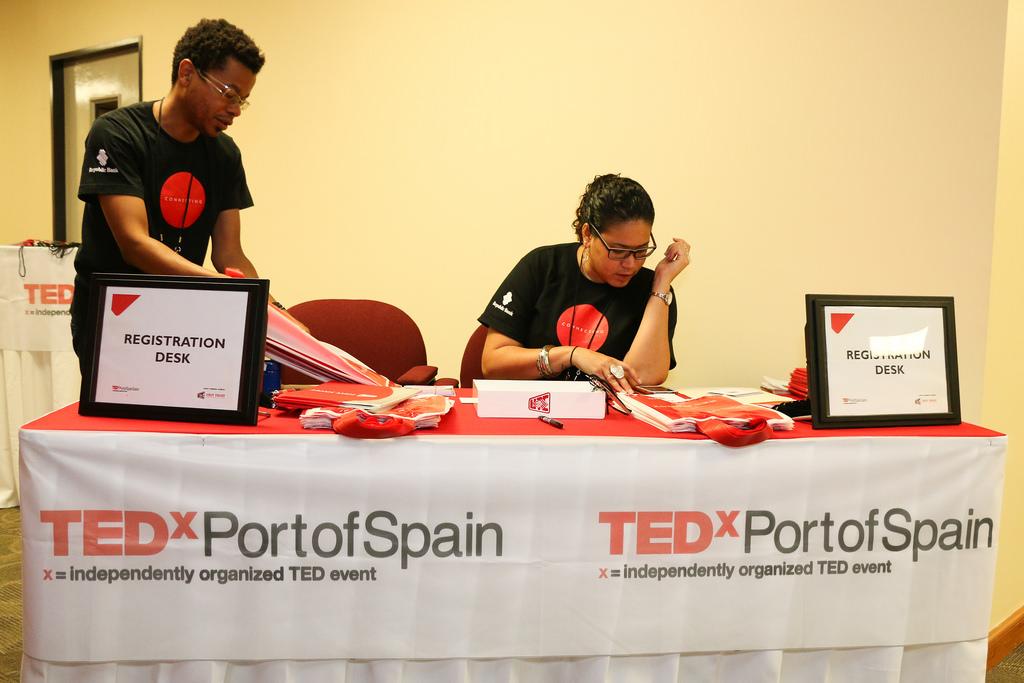 A scene from TEDxPortofSpain. Photo: Flickr/TEDxPortofSpain