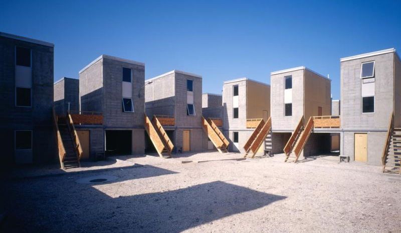 Architect Alejandro Aravena creates a different kind of public housing, designed to build up the people living in it.