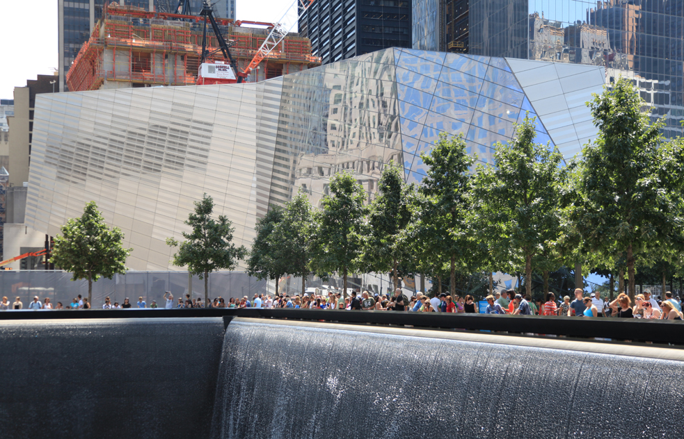The exterior of the National 9/11 Memorial Museum. Photo: Amy Dreher
