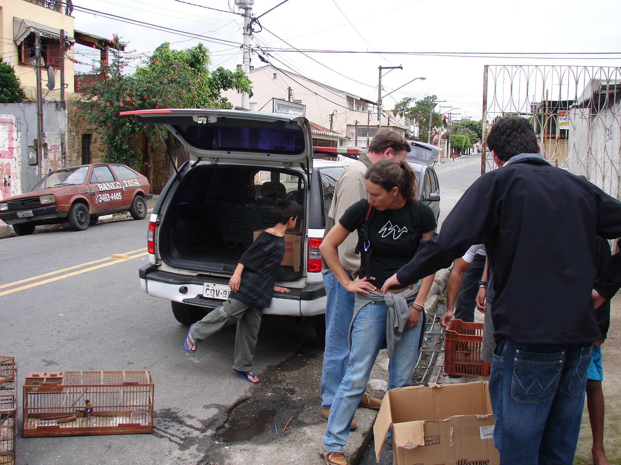 Ferreira participates in a raid in São Paulo, seizing illegally traded and/or owned animals with the São Paulo State Police and SOS Fauna. Photo: SOS Fauna