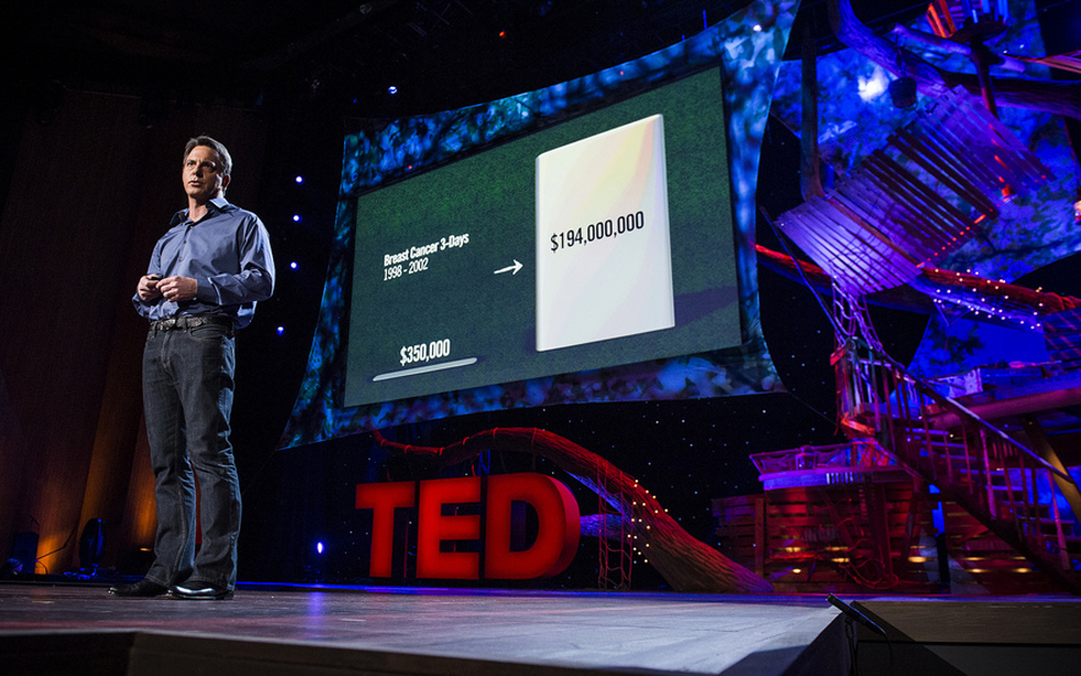 Many people in the non-profit world have said that Dan Pallotta's TED Talk changed how they thought about their organization. Photo: James Duncan Davidson