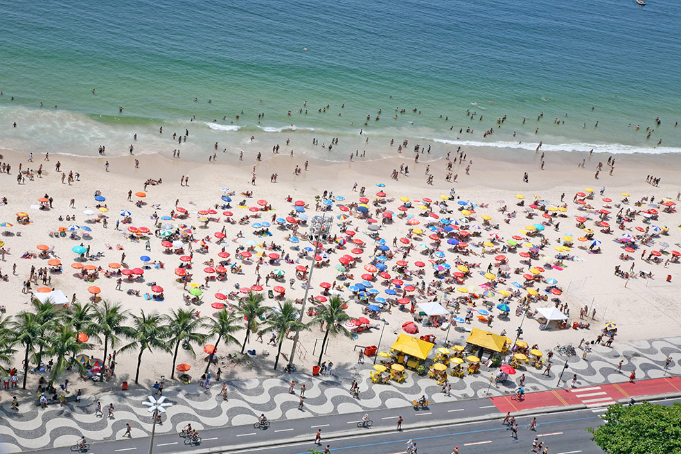 TEDGlobal 2014 will be held at the Copacabana Palace Hotel, located on gorgeous Copacabana Beach. Photo: iStock
