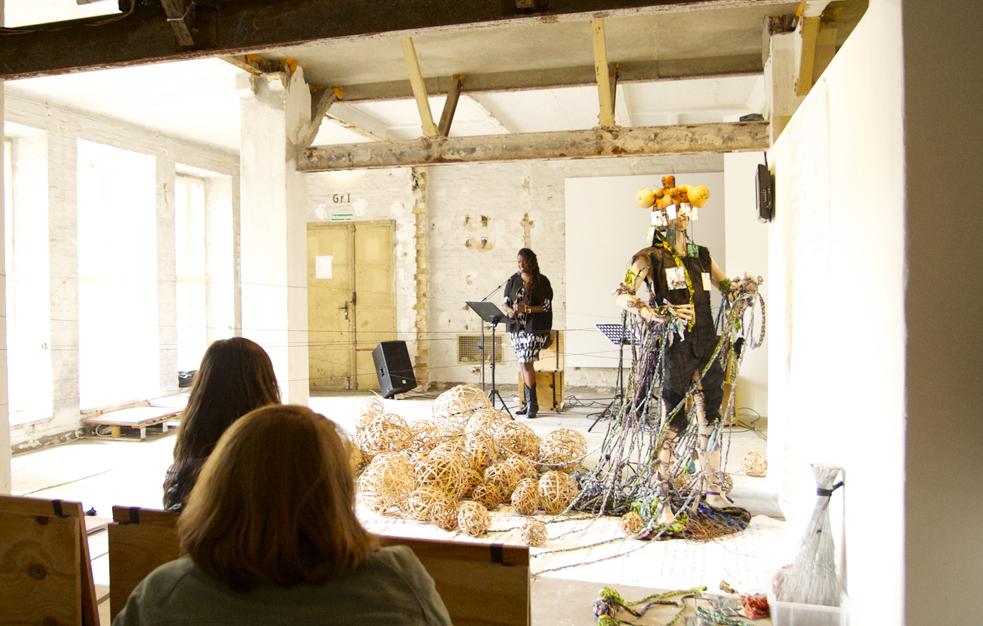 Somi performs music at TK. Photo: Neda Navalee