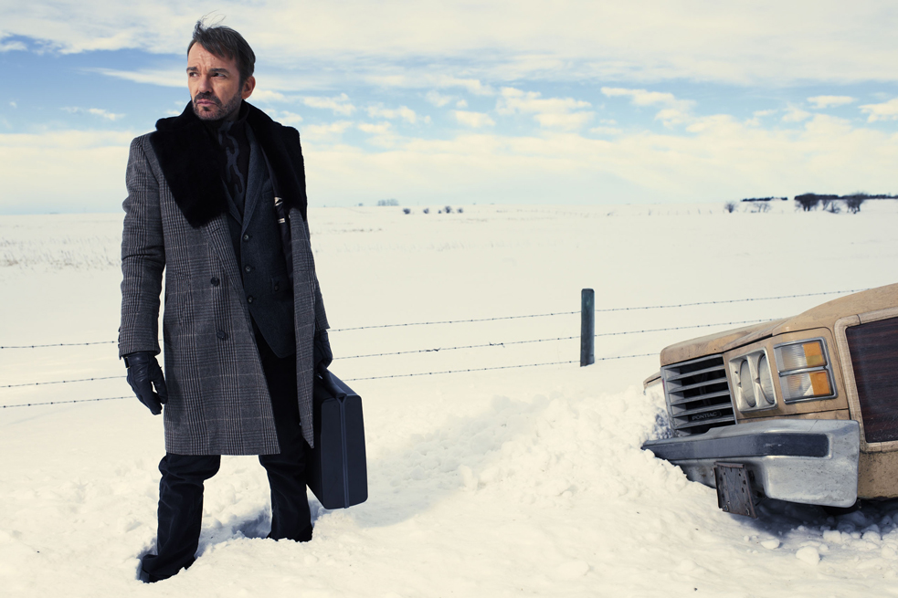 Fargo: the fiction. Billy Bob Thornton stars in the FX television show Fargo. This show is based on the Coen Brothers movie, and gives the absolute wrong impression of my city. Photo: FX