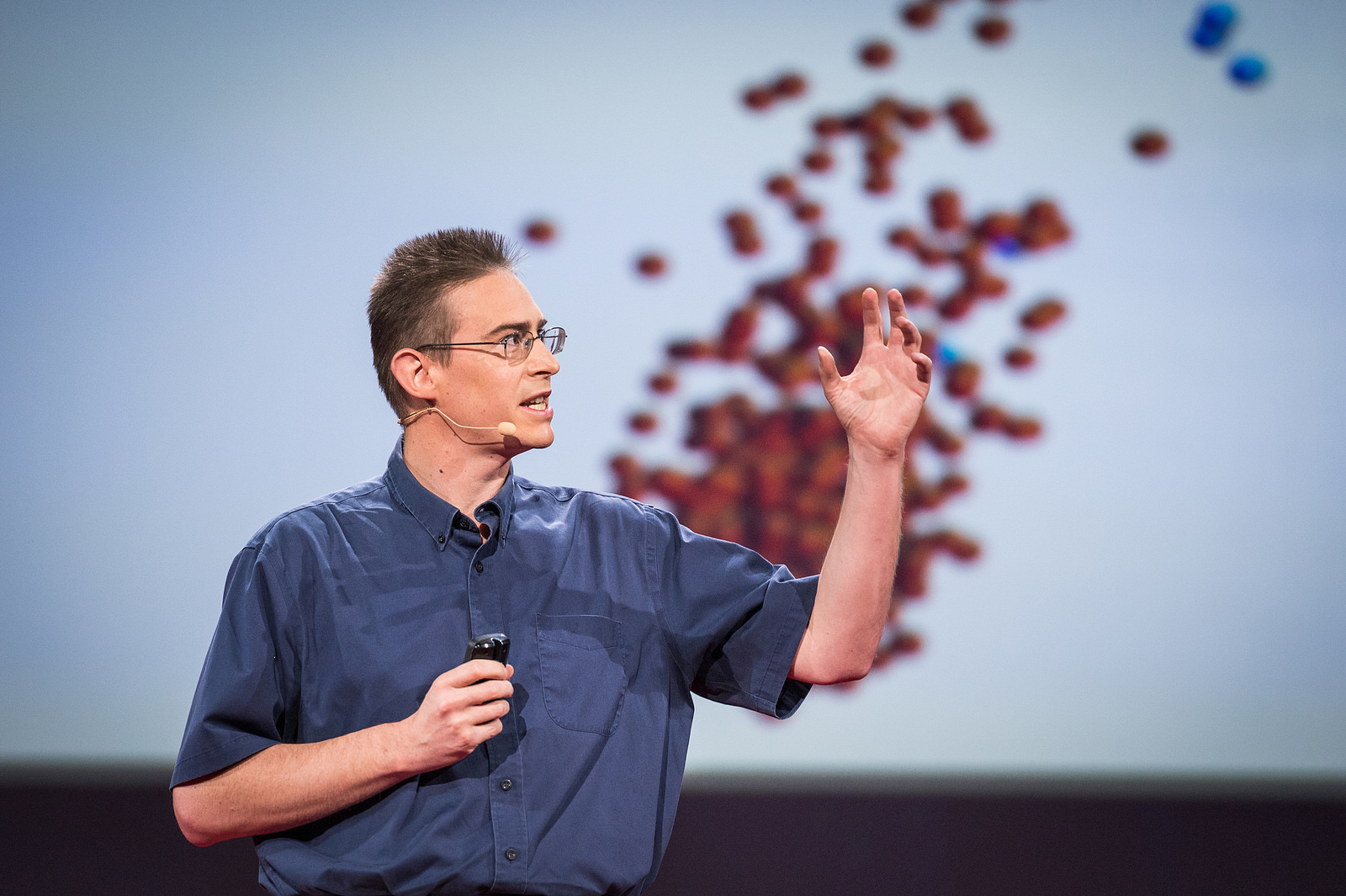 Rob Knight introduced us to the American Gut Project at TED2014. This week, they released some fascinating findings. Photo: James Duncan Davidson