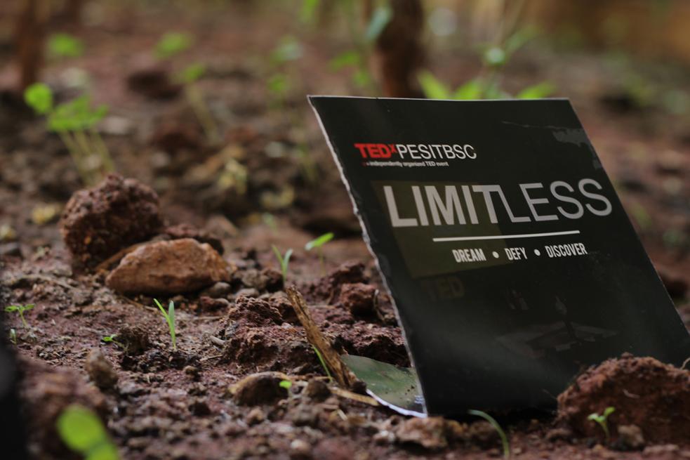 The theme of the last TEDxPESITBSC? Limitless. Photo: Courtesy of TEDxPESITBSC