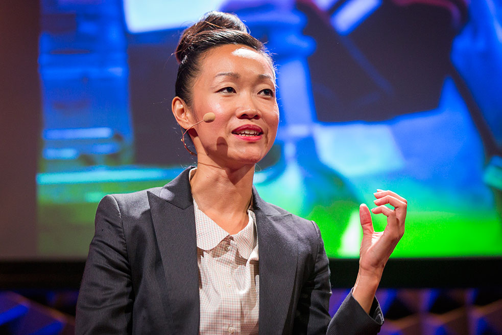 Mulmul Kuo reveals her art that can, in essence, have a conversation with you. Photo: Ryan Lash