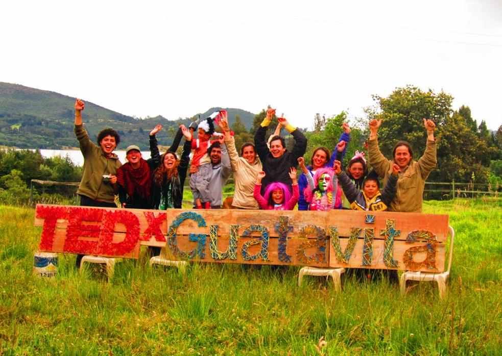 TEDxGuatavita took place in rural Colombia and TK. Photo: Courtesy of Philipe Spath
