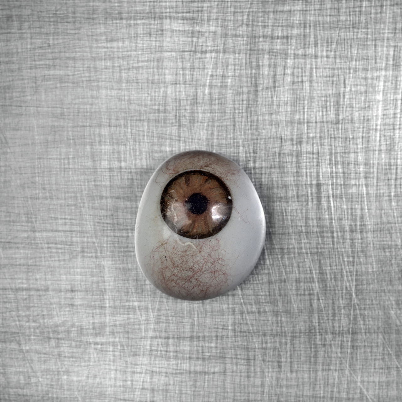 Glass eye, from Quest for Identity. Photo: Ziyah Gafić