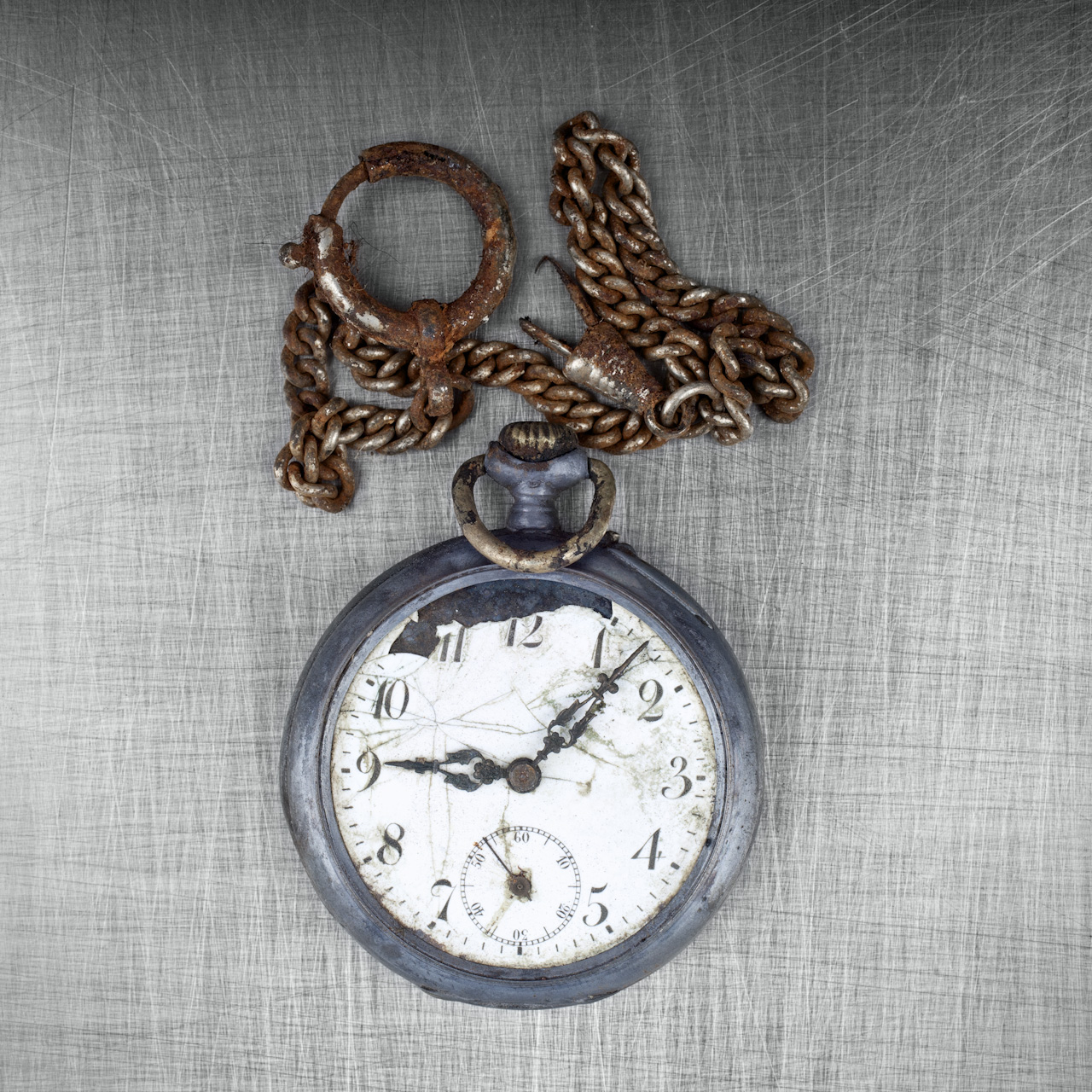 From Quest for Identity. A watch from amongst the personal belongings recovered from mass graves, lying on a forensics table. These items were carried by people as they fled from the Serb Army, or when they were taken for execution. Personal belongings are still being recovered from countless mass graves across Bosnia and Herzegovina and are used as evidence in ongoing trials for war crimes and in the ongoing identification process of their owners. Photo: Ziyah Gafić.