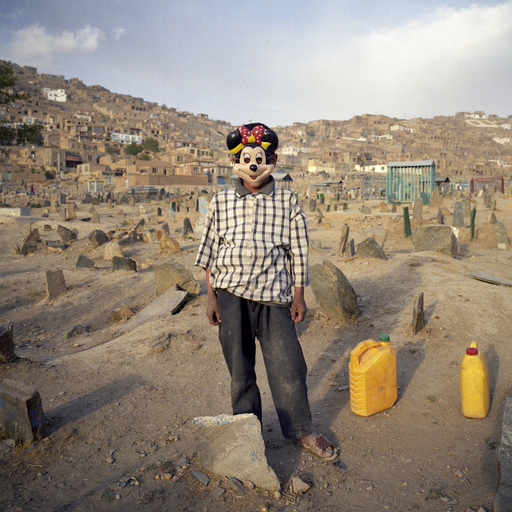 Post-liberation Afghanistan. Afghan cemeteries are very basic: simple stones mark graves, which are very rarely engraved. From Troubled Islam: short stories from troubled societies. Photo: Ziyah Gafić