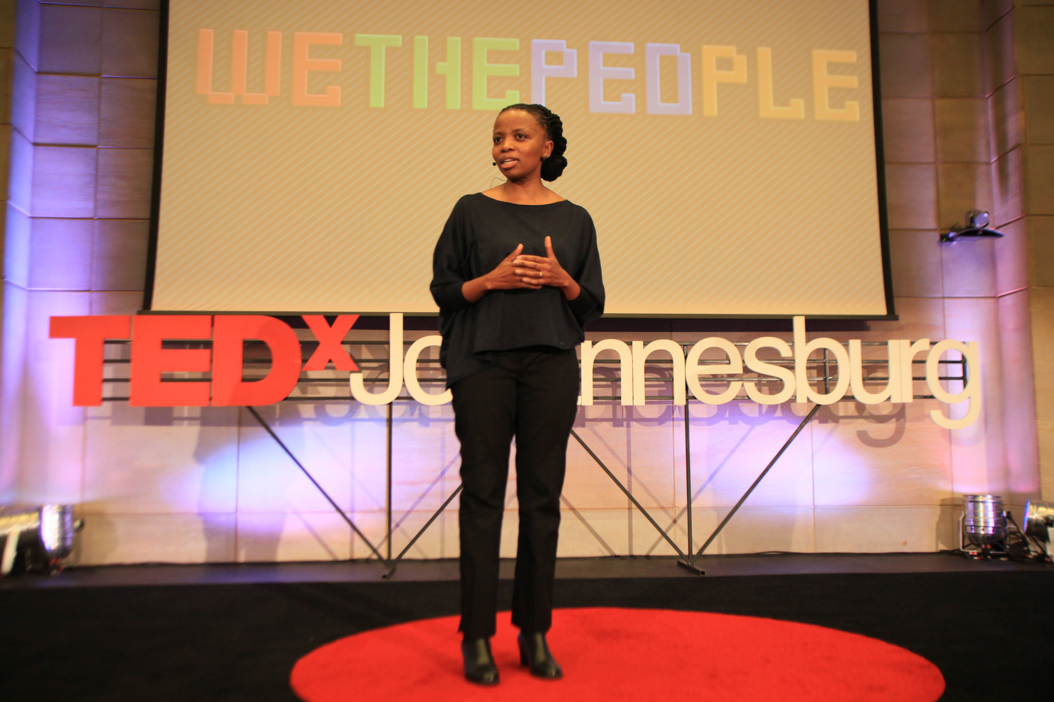 """The theme at TEDxJohannesburg? """"We the People."""" Photo: Courtesy of TEDxJohannesburg"""