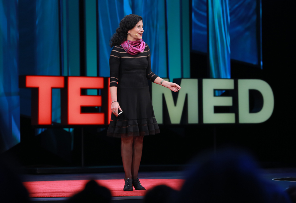Nassim Assefi hosted TEDMED2014, Photo: Sandy Huffaker Jr.