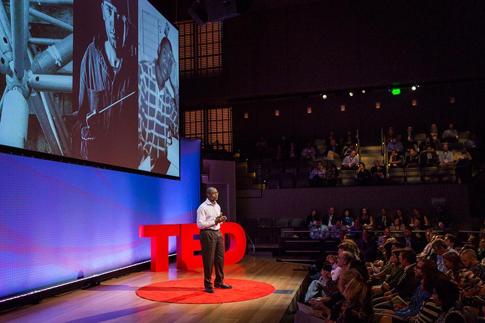 Kareem Photo: Marla Aufmuth/TED