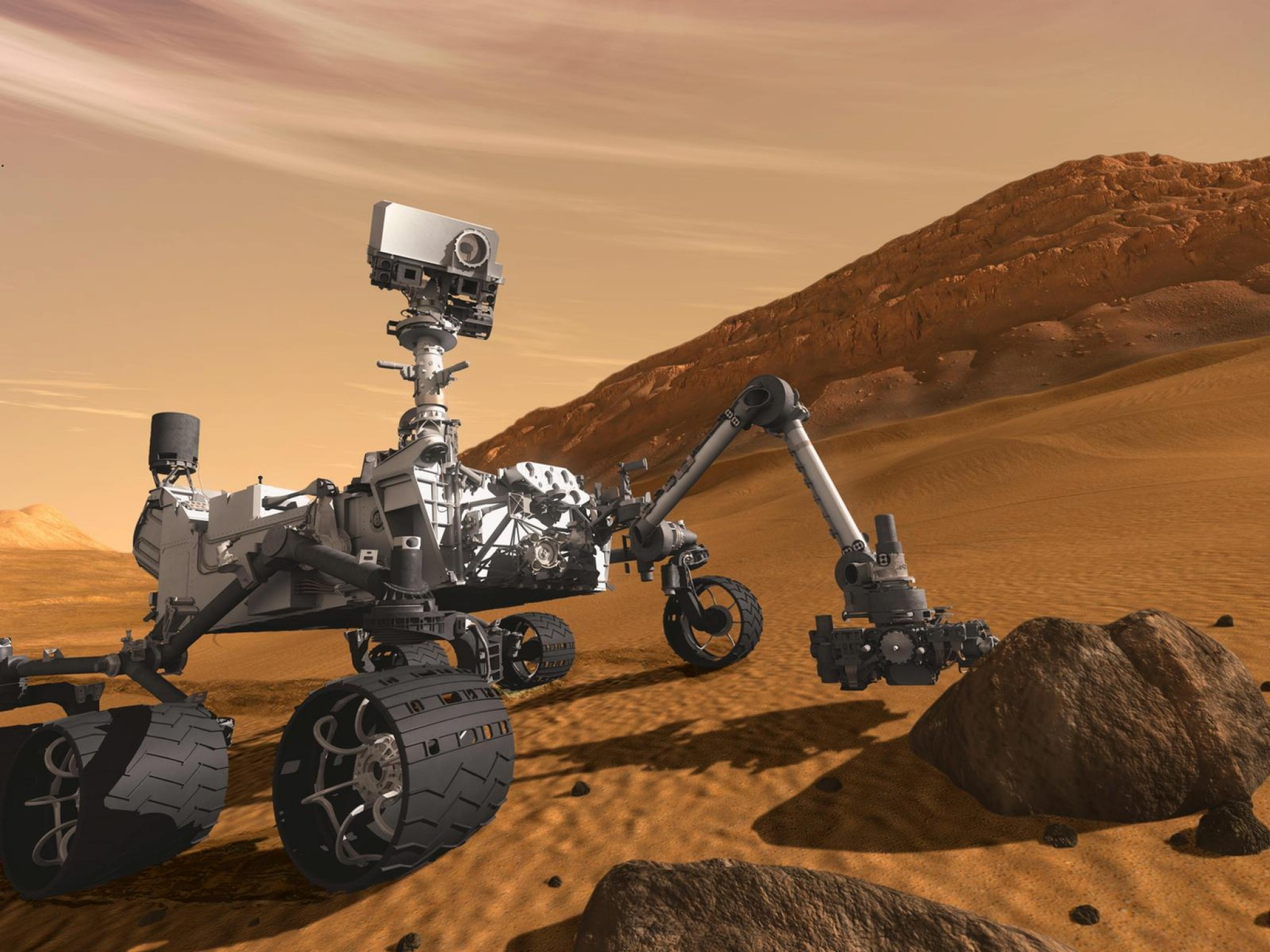 Planetary geologist Bethany Ehlmann is one of the scientists who gives NASA's Mars Curiosity Rover its marching orders, analyzing the rocks its collects for clues to the planet's history.