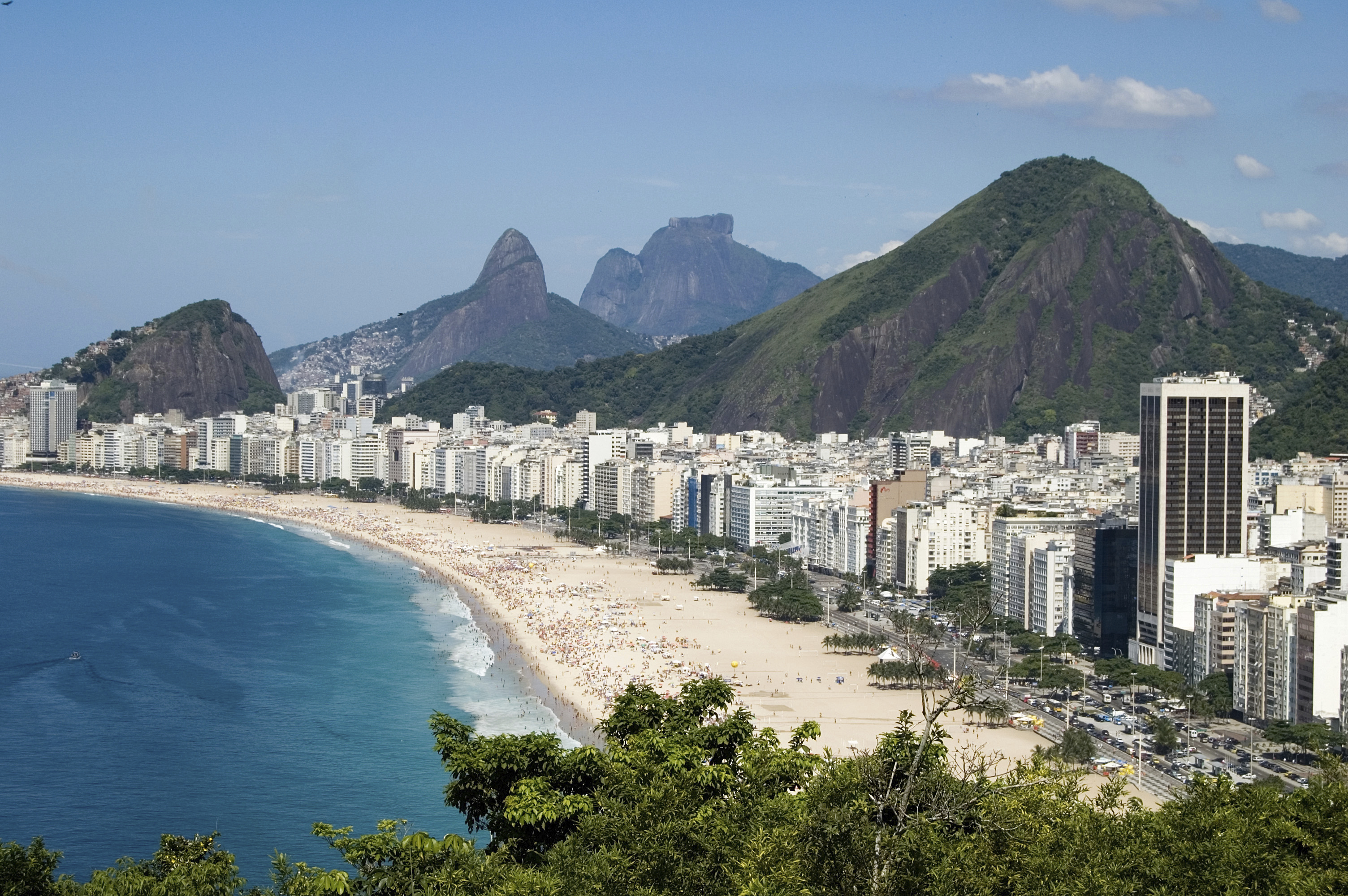 Throughout Rio de Janeiro, people will be able to watch the TEDGlobal 2014 conference for free. Photo: Thinkstock