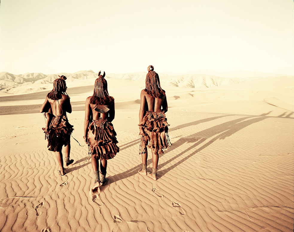 Jimmy Nelson's photo of the Himba, an ancient tribe of herders. Photo: Courtesy of Jimmy Nelson