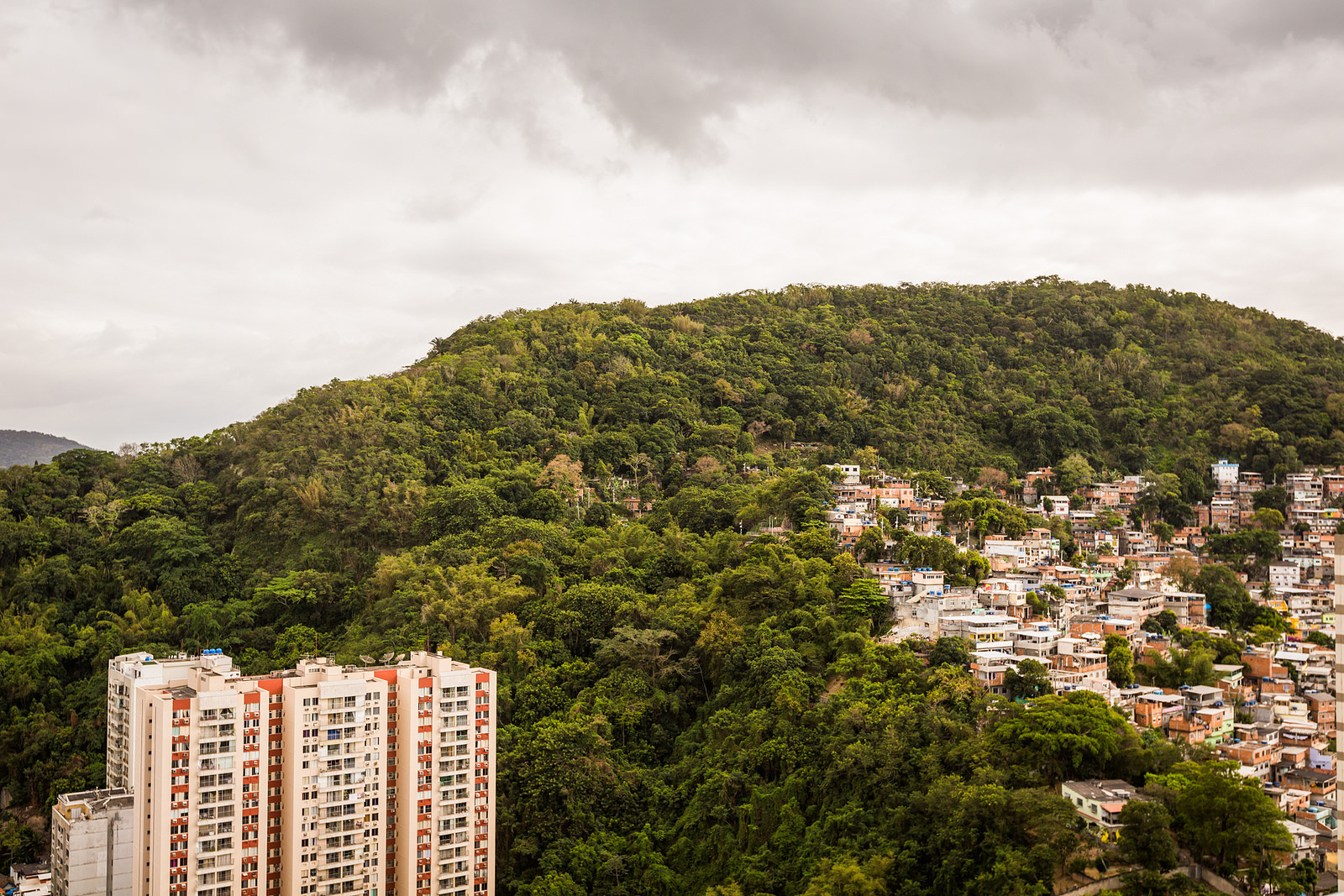 A view of Rio from the hotel. Photo: Ryan Lash