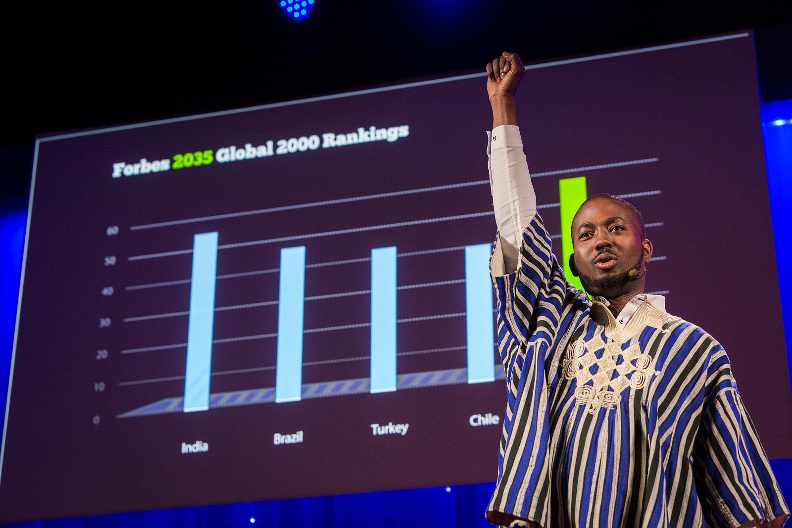 Ghanaian investor Sangu Delle makes the case for investing in pan-African entrepreneurial titans. Photo: Ryan Lash