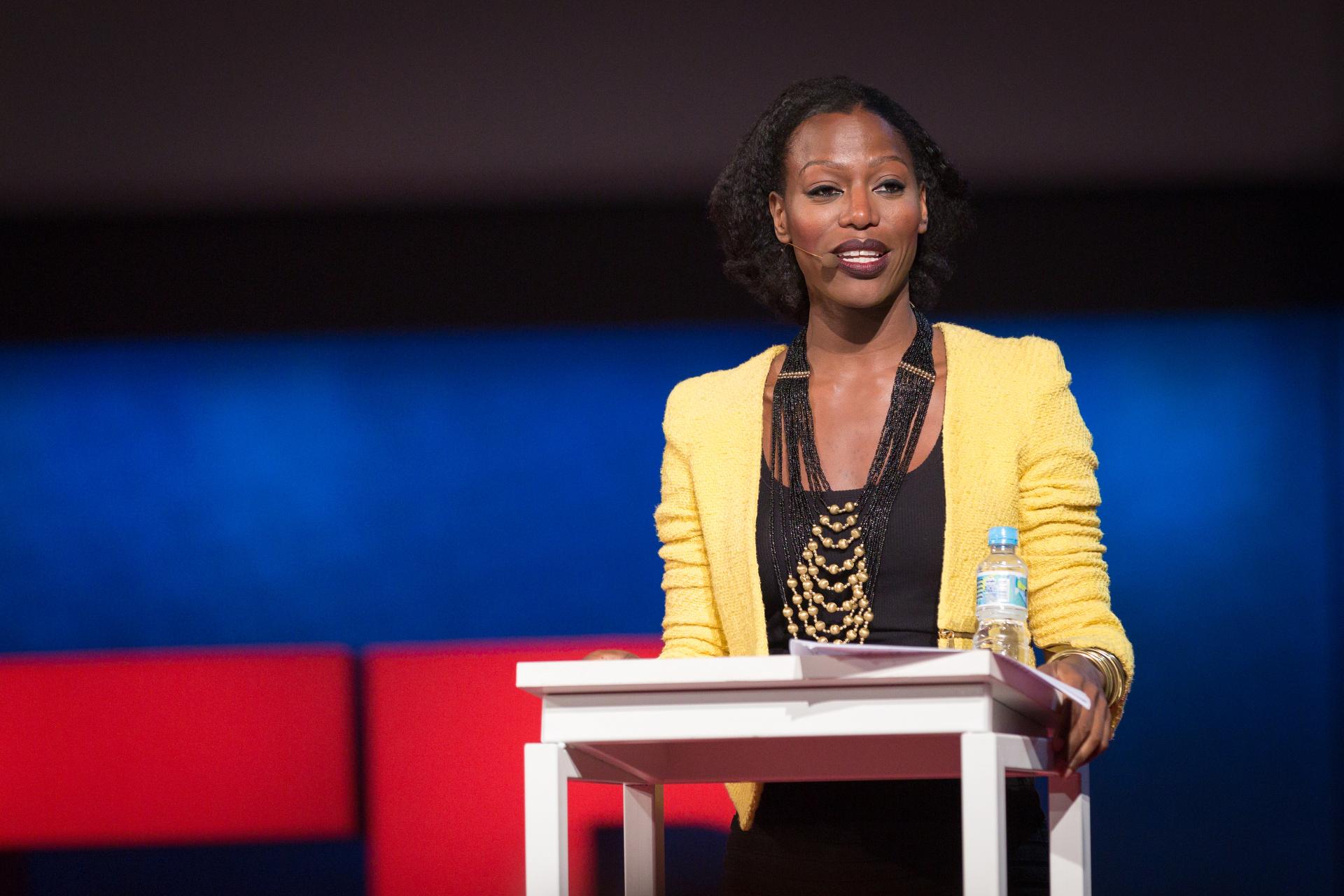 Taiye Selasi speaking at TEDGlobal 2014. Photo: James Duncan Davidson/TED