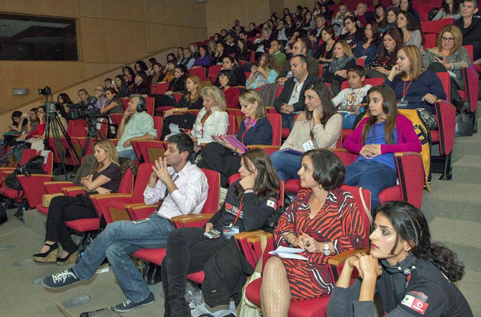 The audience, thoroughly rapt at TEDxNicosiaWomen. Photo: Andri Josef/AJPhotoart